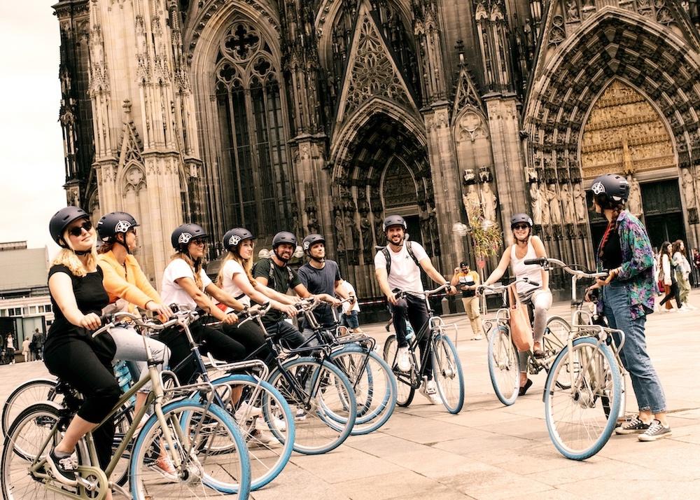 Radtour durch Köln
